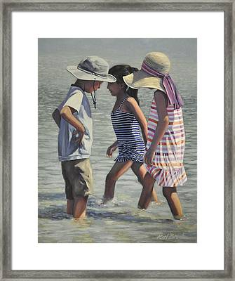 Chance Encounter Framed Print by Karl Bronk
