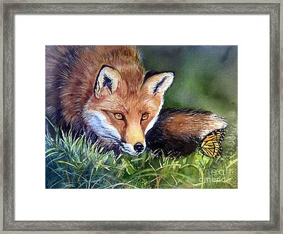 Chance Encounter Framed Print by Patricia Pushaw