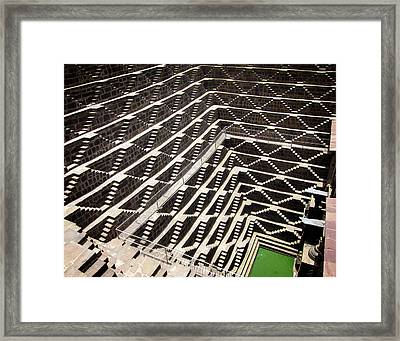 Chand Baori Framed Print by Eric Shore