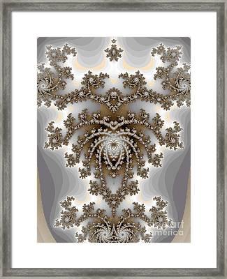 Chandelier  Framed Print by Amanda Collins