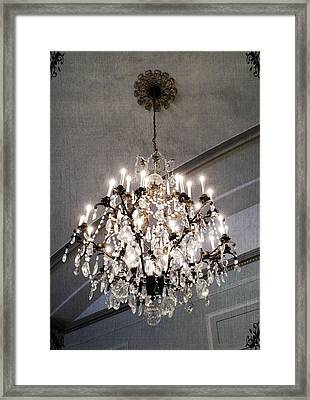 Chandelier Framed Print by Marianna Mills