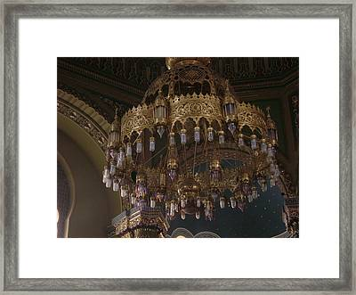 Chandelier Framed Print