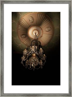 Chandelier Paxton House Framed Print