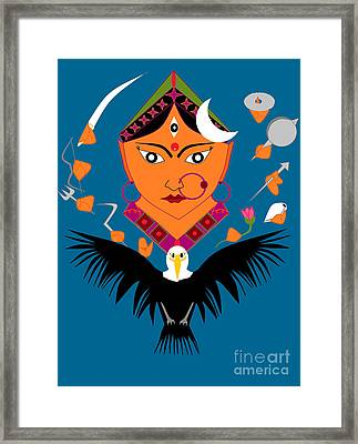 Chandraghanta Framed Print