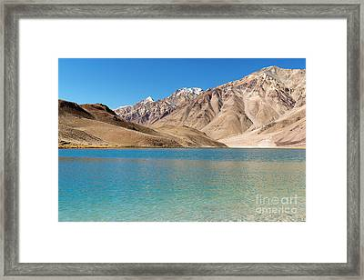 Chandratal Lake Framed Print