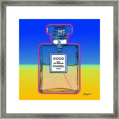 Chanel Bottle 1 Framed Print