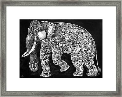 Chang Framed Print by Kritsana Tasingh