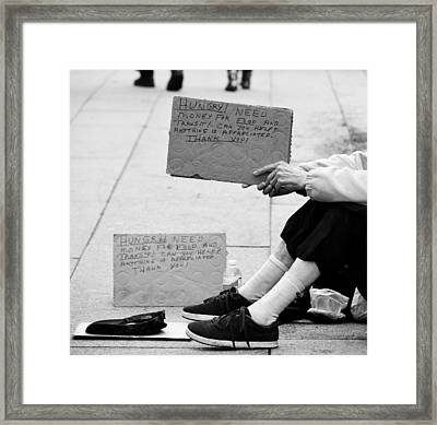 Change In Our Pockets Framed Print by Jerry Cordeiro