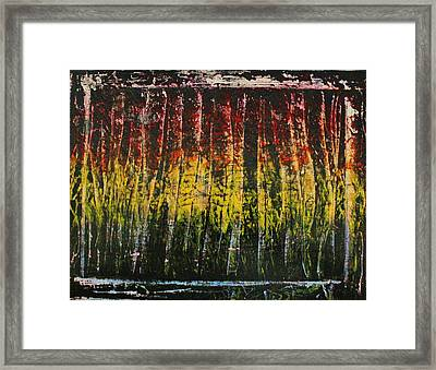 Framed Print featuring the painting Change Is Good by Michael Cross