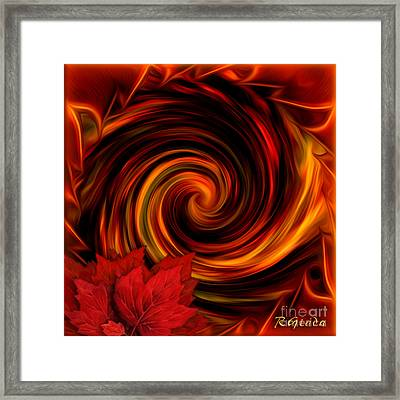 Change Of Season Framed Print