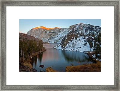 Change Of The Season Framed Print