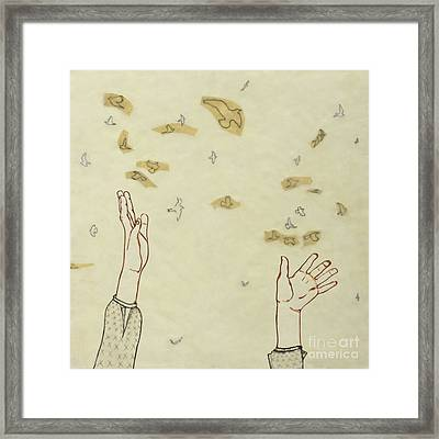 Change You Can Believe In Framed Print