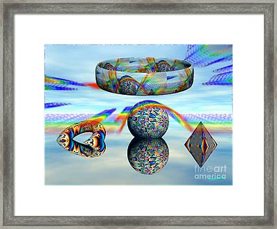 Changing Altitudes Framed Print by Bobby Hammerstone