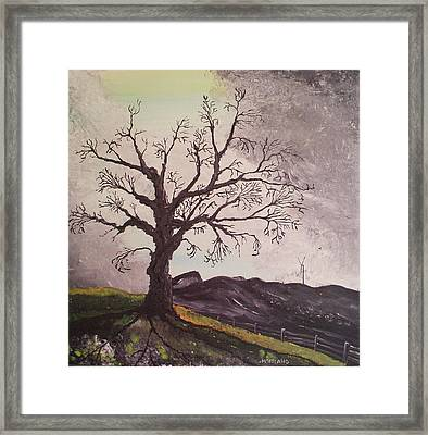 Changing Horizons Framed Print by Laura Moreland