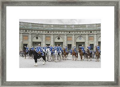 Framed Print featuring the photograph Changing Of The Guard II by Roy  McPeak