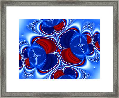 Changing Places Framed Print