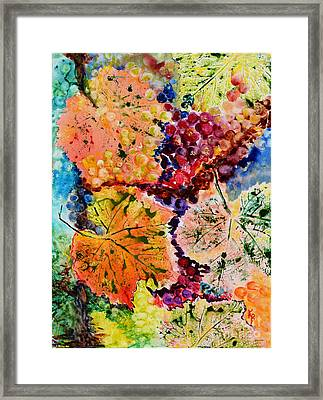 Framed Print featuring the painting Changing Seasons by Karen Fleschler