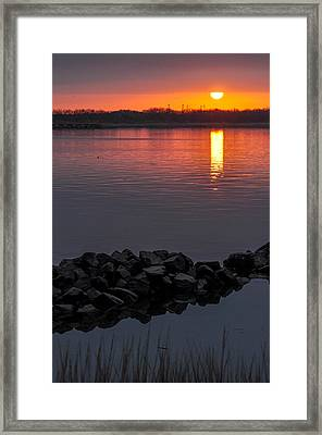 Changing Tide Framed Print by Donnie Smith