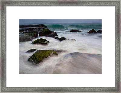 Changing Tides Framed Print by Andrew Raby