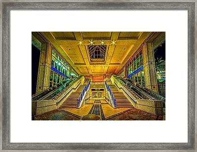 Channel Entry Framed Print