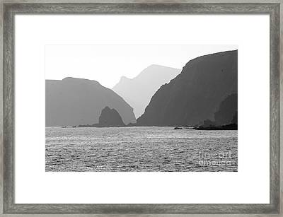 Channel Islands Sunset Framed Print