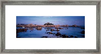 Channel Of Ploumanach Harbour Framed Print
