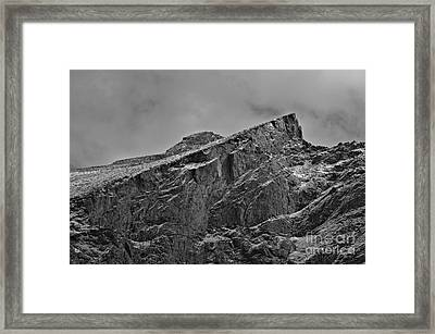 Channeling My Inner Ansel Adams Framed Print