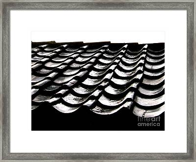 Framed Print featuring the photograph Channeling by Paul Foutz
