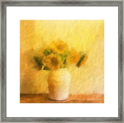 Channeling Van Gogh Framed Print