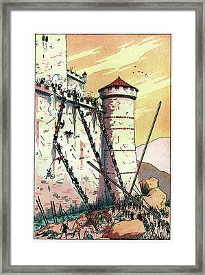 Chanson De Geste Framed Print by Cci Archives