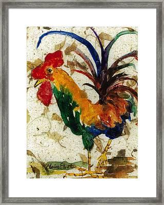 Chanticleer IIi Framed Print