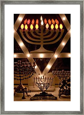 Chanukah I Framed Print by Michael Friedman