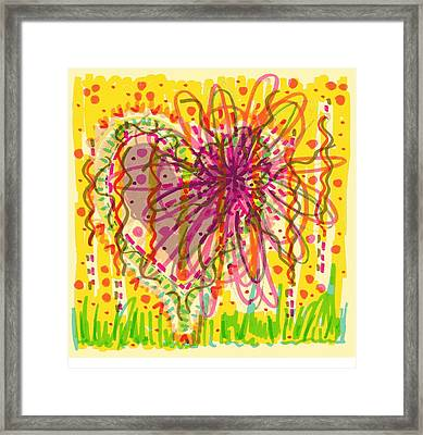 Chaos Is Beauty Framed Print