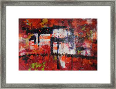 Chaos On A Sunday Afternoon Framed Print