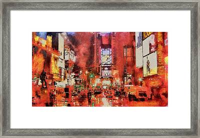 Chaos Framed Print by Patrick OHare