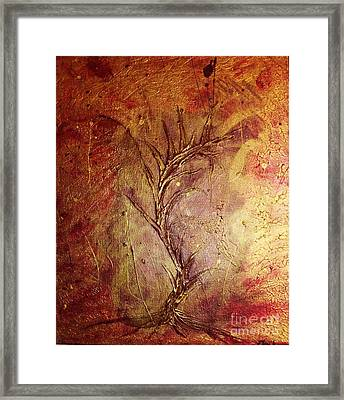 Chaos - The Bleeding Tree  Framed Print