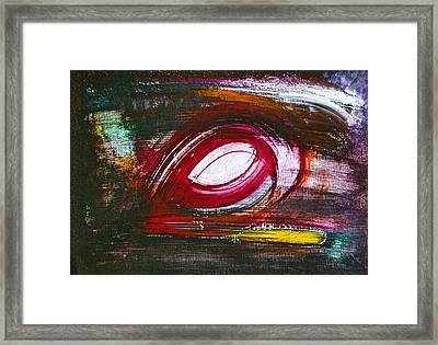 Framed Print featuring the painting Chaos by Tracey Myers