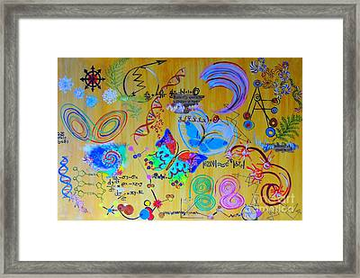 Chaotic Dynamics  Framed Print by Shahid Zuberi