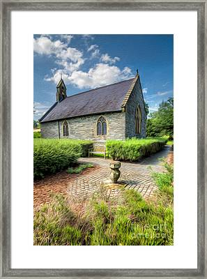 Chapel 17th Century  Framed Print by Adrian Evans