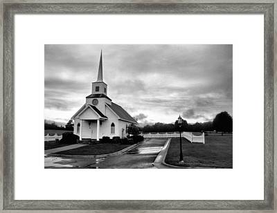 Chapel At Four Winds In Conway Arkansas Framed Print