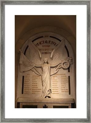Chapel At Les Invalides - Paris France - 01131 Framed Print