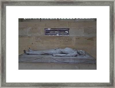 Chapel At Les Invalides - Paris France - 01132 Framed Print
