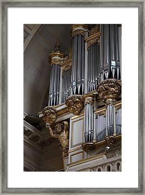 Chapel At Les Invalides - Paris France - 01135 Framed Print by DC Photographer