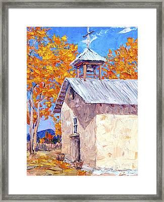 Chapel At Ojo Claiente Framed Print