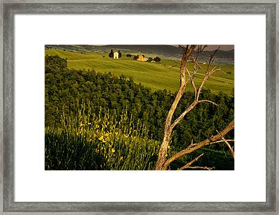 Chapel At Springtime Framed Print by Andrew Soundarajan