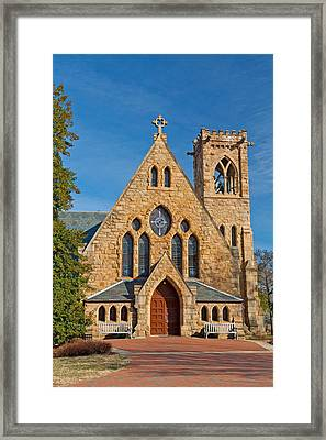 Chapel At Uva Framed Print