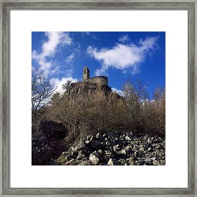 Chapel. Auvergne. France Framed Print by Bernard Jaubert