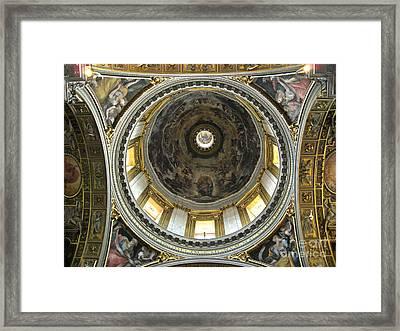 Chapel Dome Framed Print by Deborah Smolinske