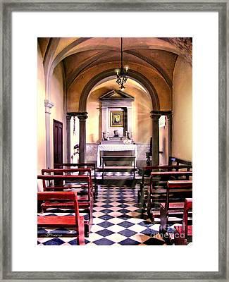 Chapel In Firenze Framed Print by Jennie Breeze