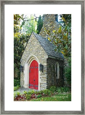 Chapel In Gatlinburg Framed Print